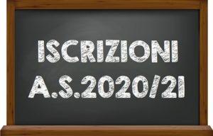 Iscrizioni A.S. 2020/21