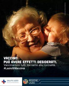 """Campagna- """"Vaccino può avere effetti desiderati"""""""